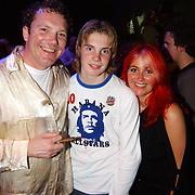 Concert Wolter Kroes, Klaas Pauwman en zoon en vriendin