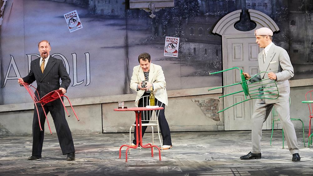 23nd June 2017.Il Turco in Italia, Rossini  at Garsignton Opera. <br /> <br /> Selim - Quirijn de Lang