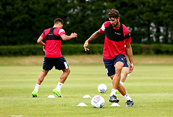 Eros Pisano in action as Bristol City return to training ahead of their 2017/18 Sky Bet Championship campaign - Mandatory by-line: Robbie Stephenson/JMP - 30/06/2017 - FOOTBALL - Failand Training Ground - Bristol, United Kingdom - Bristol City Pre Season Training - Sky Bet Championship