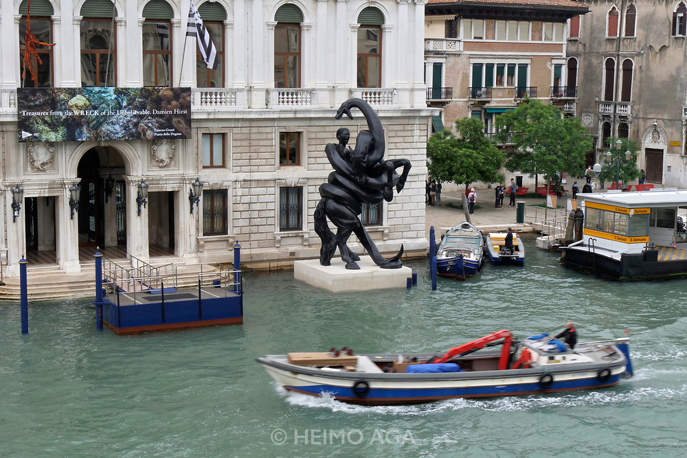 Palazzo Grassi. Damien Hirst: Treasures from the Wreck of the Unbelievable.<br /> The Fate of a Banished Man.