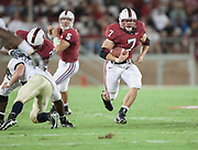 FOOTBALL, College<br /> Stanford vs Navy<br /> Stanford Stadium<br /> September 16, 2006.  Toby Gerhart #7.<br /> &copy; 2006 David Madison
