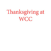 Thanksgiving Dinner at Wise CC
