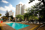 Belo Horizonte_MG, Brasil...Residencial Santa Helena no bairro Ipiranga em Belo Horizonte, Minas Gerais. Na foto area de lazer do condominio...Santa Helena condominium in the Ipiranga neighborhood in Belo Horizonte, Minas Gerais. In this photo recreation area in the condominium...Foto: NIDIN SANCHES / NITRO