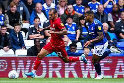 Pedro Pereira of Bristol City takes on David Davis of Birmingham City - Mandatory by-line: Robbie Stephenson/JMP - 10/08/2019 - FOOTBALL - St Andrew's Stadium - Birmingham, England - Birmingham City v Bristol City - Sky Bet Championship
