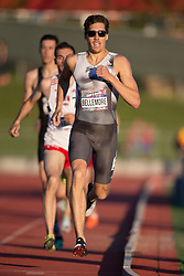 GUELPH, ON - JUNE 7: World beer mile record holder Corey Bellemore of Canada competing in the 800m at the 2019 Speed River Inferno Track and Field Festival held at Alumni Stadium at the University of Guelph in Guelph, Ontario. (Photo by Sean Burges/Icon Sportswire)