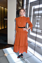 Nell Hudson at the official launch of The Perception at W London, 10 Wardour Street, London England. 7 November 2017.<br /> Photo by Dominic O'Neill/SilverHub 0203 174 1069 sales@silverhubmedia.com