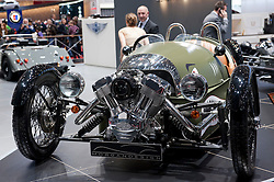 Morgan Threewheeler 3 wheeled car at Geneva Motor Show 2011 Switzerland
