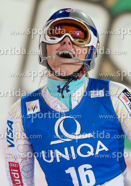 20.12.2011, Hermann Maier Piste, Flachau, AUT, FIS Weltcup Ski Alpin, Damen, Slalom nach dem 2. Durchgang, im Bild Lindsey Vonn (USA) // Lindsey Vonn of USA after her 2nd run of Slalom at FIS Ski Alpine Worldcup at Hermann Maier Pist in Flachau, Austria on 2011/12/20. EXPA Pictures © 2011, PhotoCredit: EXPA/ Johann Groder