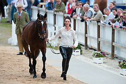 Charlotte Agnew (GBR) - Out of Africa Two <br /> Vet inspection - CCI4* Luhmühlen 2012<br /> © Hippo Foto - Jon Stroud