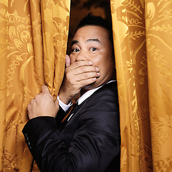 "Honk Kong's actor Simon Yam at the 62th Cannes Film Festival for Johnnie To's movie, ""Vengeance"". France. 17 May 2009. Photo: Antoine Doyen"