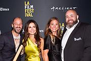 Director Gabriel Taraboulsy, Janet Zuccarini, Juanita Dickson, and Chef Evan Funké