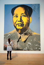 Chairman Mao by Andy Warhol at Metropolitan Museum of Art in Manhattan , New York City, USA