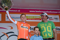Amalie Dideriksen extends her race lead after Boels Dolmans win at the 26.4 km Stage 2 Team Time Trial of the Boels Ladies Tour 2016 on 31st August 2016 in Gennep, Netherlands. (Photo by Sean Robinson/Velofocus).