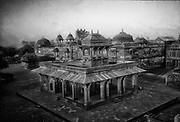 The architectural complex at Fathepur Sikri in Utar Pradesh Sate, India.