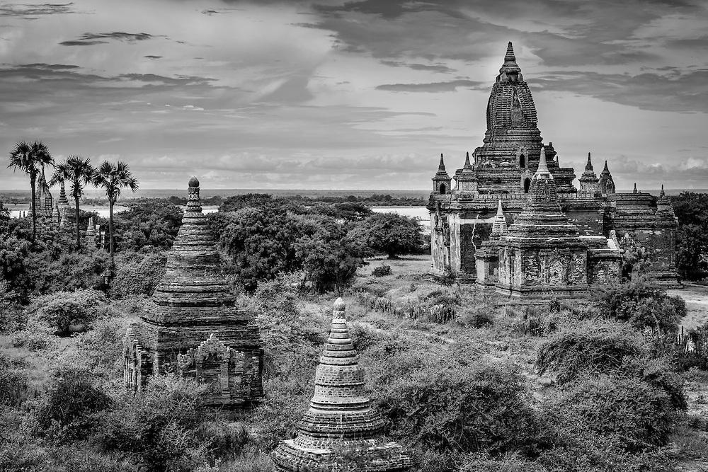 View of Temples, Bagan, Myanmar