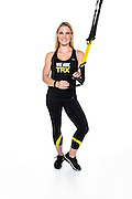 Fitness trainer and TRX instructor Shana Verstegen is pictured in a studio portrait in Madison, Wis., on Aug. 21, 2016. (Photo by Jeff Miller, www.jeffmillerphotography.com)