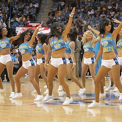 01 November 2008:  New Orleans Hornets Honeybee dancers perform during the NBA regular season home opener for the New Orleans Hornets against the Cleveland Cavaliers at the New Orleans Arena in New Orleans, LA..