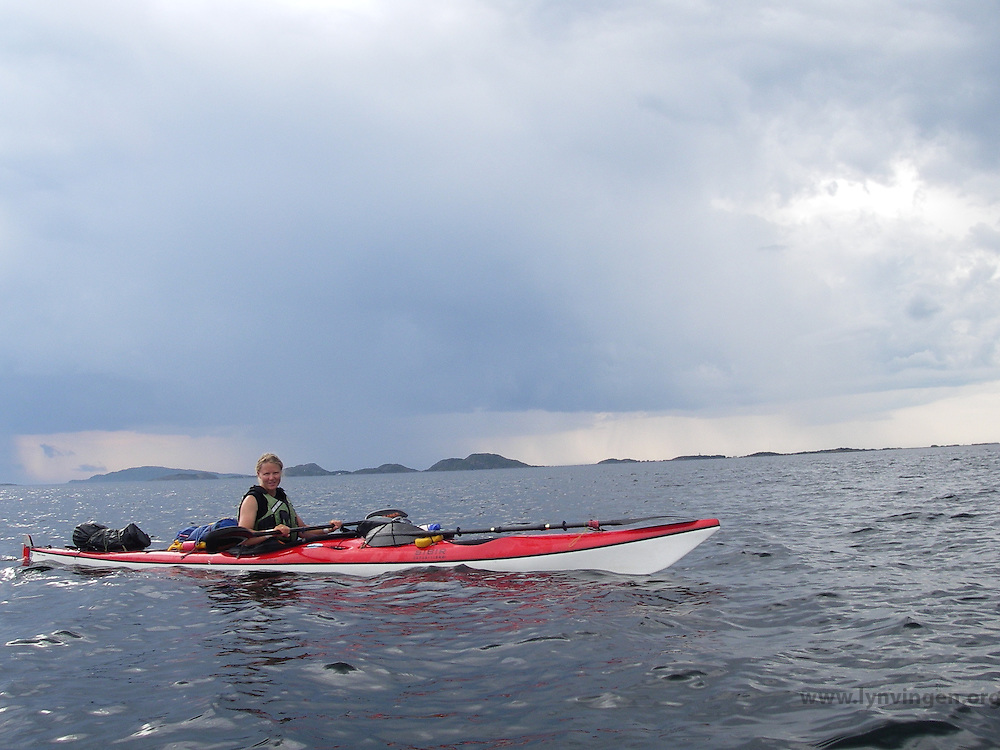 Kayaking Trondheimsleia