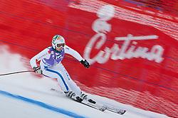 19.01.2011, Tofana, Cortina d Ampezzo, ITA, FIS World Cup Ski Alpin, Lady, Cortina, Abfahrt 1. Training, im Bild Aurelie Revillet (FRA, #21) // Aurelie Revillet (FRA) during FIS Ski Worldcup ladies downhill first training at pista Tofana in Cortina d Ampezzo, Italy on 19/1/2011. EXPA Pictures © 2011, PhotoCredit: EXPA/ J. Groder