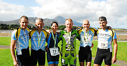 Members of Covey Wheelers after completing the Gaelforce 2010..Colm Staunton, Noel Brady, Derval Devanney, Padraig Marrey, Nick Duckette and Padraig Conway...Pic Conor McKeown