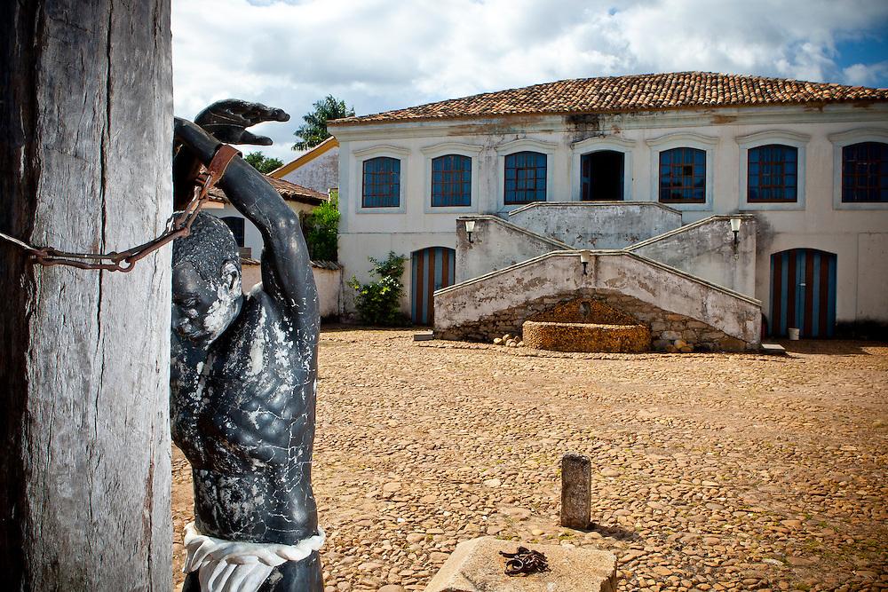 Belo Vale_MG, Brasil.<br /> <br /> Museu do escravo, localizado no municipio de Belo Vale, Minas Gerais.<br /> <br /> Slave museum in Belo Vale, Minas Gerais.<br /> <br /> Foto: RODRIGO LIMA / NITRO