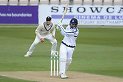 Rilee Rossouw of Hampshire batting during the Specsavers County Champ Div 1 match between Hampshire County Cricket Club and Middlesex County Cricket Club at the Ageas Bowl, Southampton, United Kingdom on 16 April 2017. Photo by David Vokes.