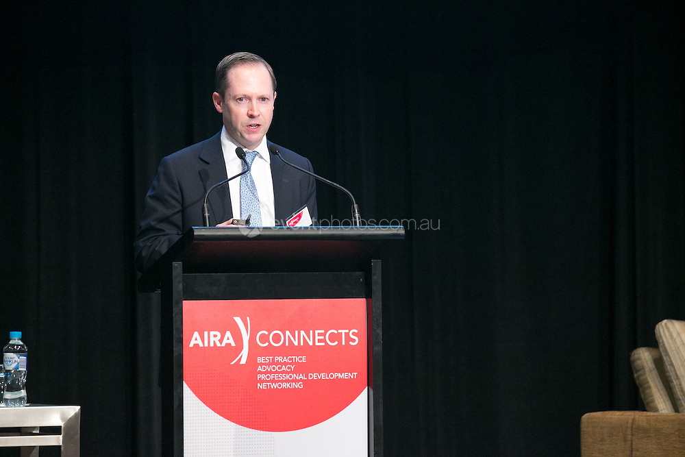 AIRA Conference 2016 - November 24, 2016: Westin Hotel, Sydney, New South Wales, Australia. Credit: Milkulas J / Event Photos Australia