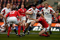 Photo: Richard Lane.<br /> England v Wales. RBS Six Nations. 04/02/2006.