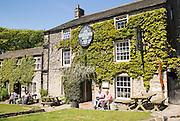 Lister Arms hotel, Malham village, Yorkshire Dales national park, England, UK