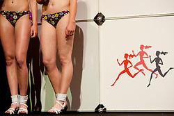 Legs during event Miss Sports of Slovenia 2012, on April 21, 2012, in Festivalna dvorana, Ljubljana, Slovenia. (Photo by Urban Urbanc / Sportida.com)
