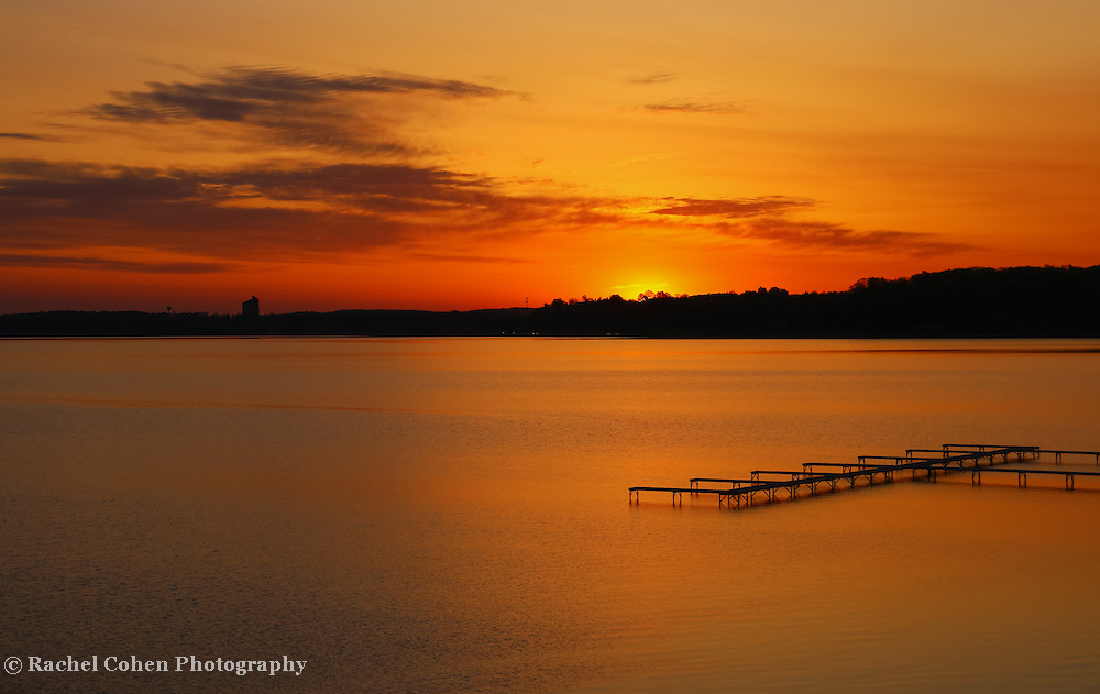 &quot;Grand Traverse Bay Sunrise&quot;<br />