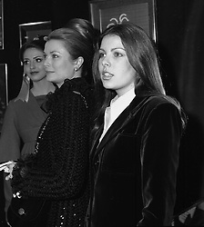 Left to right, PRINCESS GRACE OF MONACO and her daughter PRINCESS CAROLINE OF MONACO at an exhibition in London on 16th February 1973.