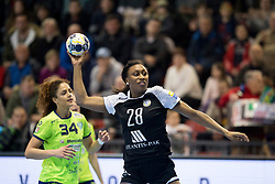 Siraba Dembele of Rostov-Don during handball match between RK Krim Mercator and Rostov-Don in Main Round of Women's EHF Champions League 2017/18, on March 3, 2018 in Sports hall Kodeljevo, Ljubljana, Slovenia. Photo by Urban Urbanc / Sportida