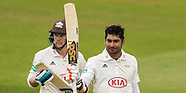 17 Apr 2017 - Surrey v Lancashire. Specsavers County Championship - Day Four