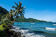 The Pago Pago harbour in Tutuila island, American Samoa, South Pacific