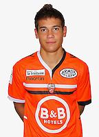 Raphael GUERREIRO - 16.10.2013 - Photo Officielle Lorient - Ligue 1<br /> Photo : Philippe Le Brech / Icon Sport
