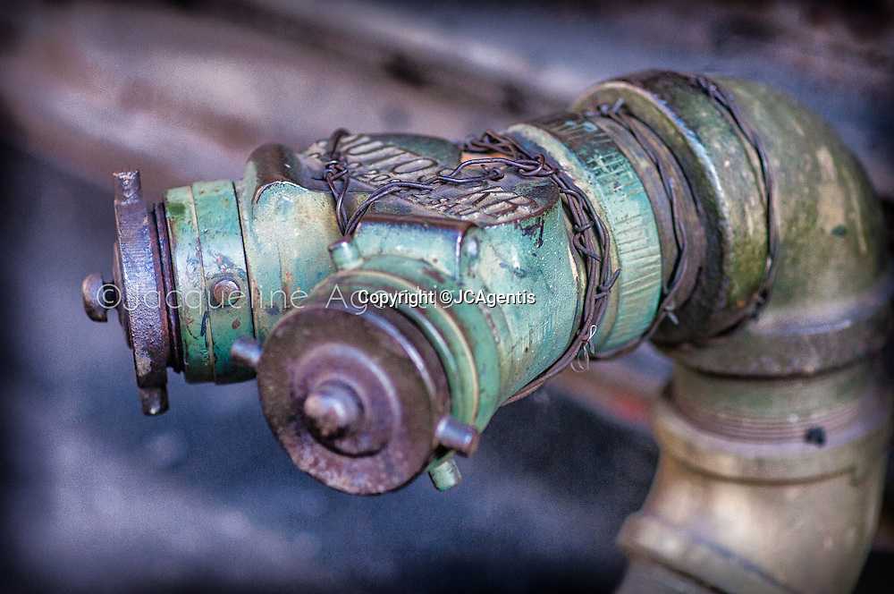 Image of colorful hydrant in SoHo New York City by Jacqueline C Agentis. Limited Edition 1 of 50