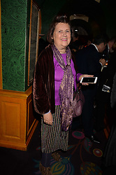 Suzi Menkes attend CATWALKING, PHOTOGRAPHS BY CHRIS MOORE party hosted by The British Fashion Council & Laurence King Publishing at Annabel's, Mayfair, London England. 6 November 2017.
