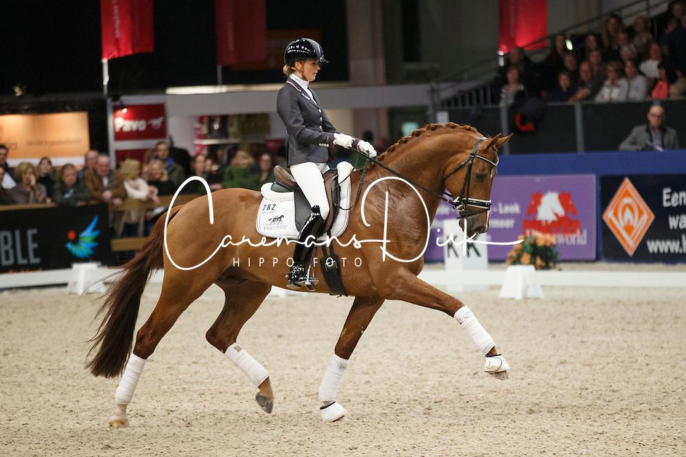Scholtens Emmelie (NED) - Estoril<br /> KWPN Stallion Selection - 's Hertogenbosch 2014<br /> © Dirk Caremans