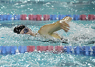 Linn-Mar's Jenn Jenks comes up for a breath in the 200 yard freestyle event at the Girls' High School State Swimming & Diving Championships at the Marshalltown YMCA/YWCA in Marshalltown on Saturday, November 9, 2013. Jenks placed eleventh with a time of 1:55.09.