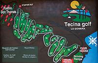 LA GOMERA - TECINA GOLF baanbord COPYRIGHT KOEN SUYK