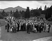 1958 Irish Shell Staff outing