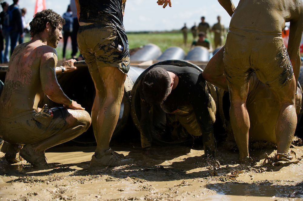 Tough Mudder - May 2012 - Northamptonshire - Tube Crawl