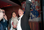 SERENA REES; RIFAT OSBEC, Early launch of Rupert's. Robin Birley  new premises in Shepherd Market. 6 Hertford St. London. 10 June 2010. .-DO NOT ARCHIVE-© Copyright Photograph by Dafydd Jones. 248 Clapham Rd. London SW9 0PZ. Tel 0207 820 0771. www.dafjones.com.