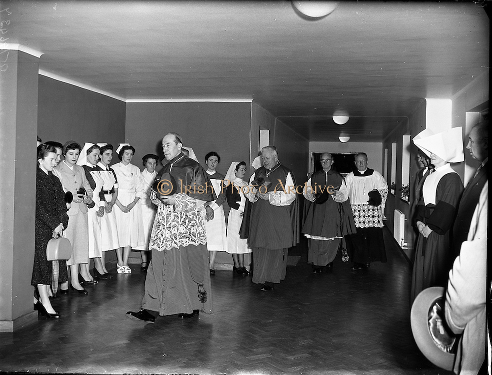 Our Lady's Children's Hospital Opened at Crumlin.21/11/1956