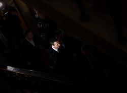 17.05.2016, Parlament, Wien, AUT, SPÖ, Sitzung des Parteipräsidiums mit Beschluss des neuen Bundeskanzlers. im Bild designierter Bundeskanzler und Parteiobmann Christian Kern // designed federal chancellor Christian Kern during board meeting of the austrian social democratic party at austrian parliament in Vienna, Austria on 2016/05/17. EXPA Pictures © 2016, PhotoCredit: EXPA/ Michael Gruber