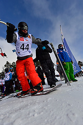 Europa Cup Finals Banked Slalom, BOUDIN Olivier, FRA at the 2016 IPC Snowboard Europa Cup Finals and World Cup