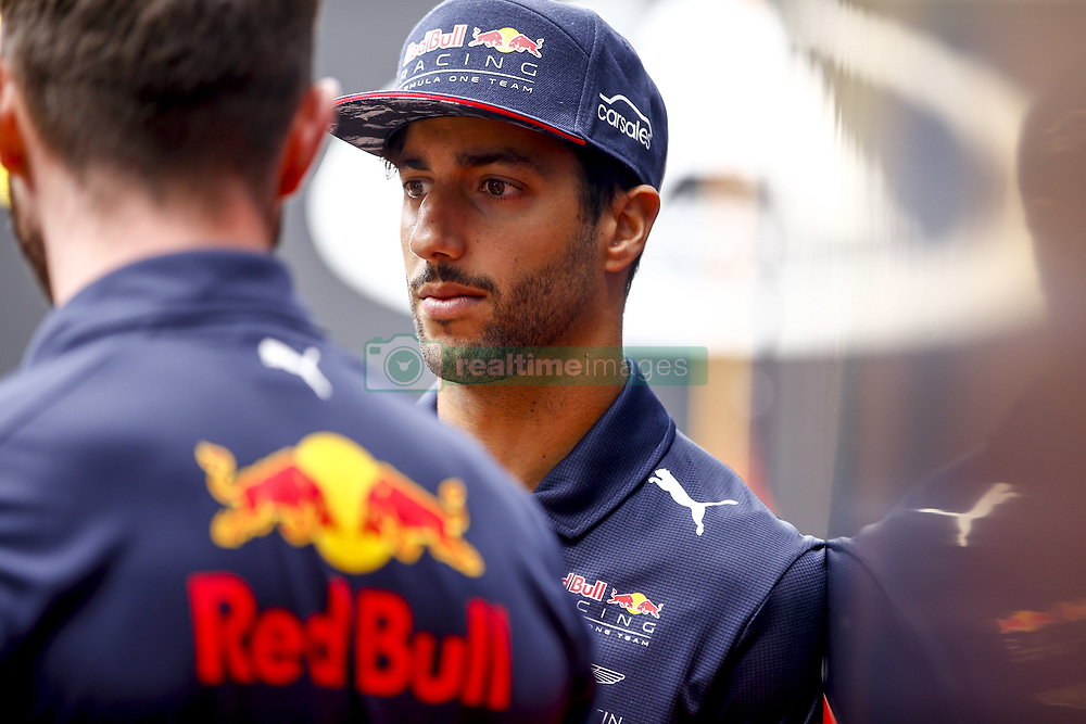 August 24, 2017 - Spa-Francorchamps, Belgium - Motorsports: FIA Formula One World Championship 2017, Grand Prix of Belgium, ..#3 Daniel Ricciardo (AUS, Red Bull Racing) (Credit Image: © Hoch Zwei via ZUMA Wire)