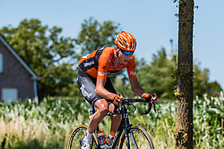 Leading group with Oscar Riesebeek of Roompot - Nederlandse Loterij at 2018 National Road Race Championships Netherlands for Men Elite, Hoogerheide, The Netherlands, 1 July 2018. Photo by Pim Nijland / PelotonPhotos.com | All photos usage must carry mandatory copyright credit (Peloton Photos | Pim Nijland)