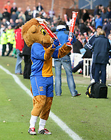 Shrewsbury town v Hereford,Fa cup first round.<br />11-11-2006.mascot,
